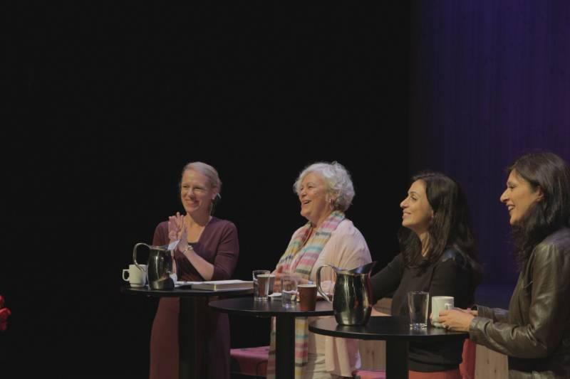 Anniken Huitfeldt, Ellen Horn, Hadia Tajik og Loveleen Brenna