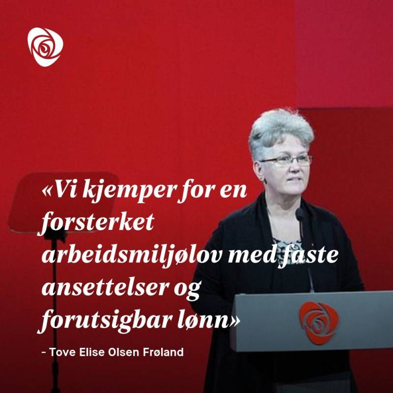 Sitatplakat Tove Elise Olsen Frøland