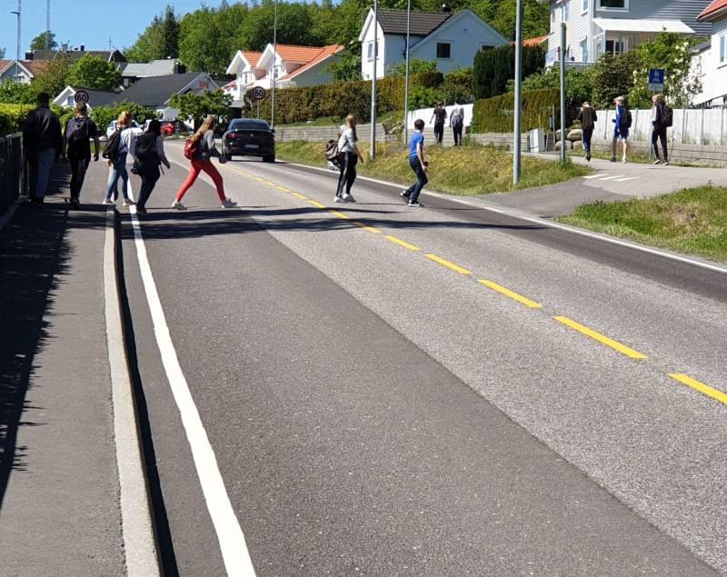 Trafikksikkerhet prioritet nummer 1.