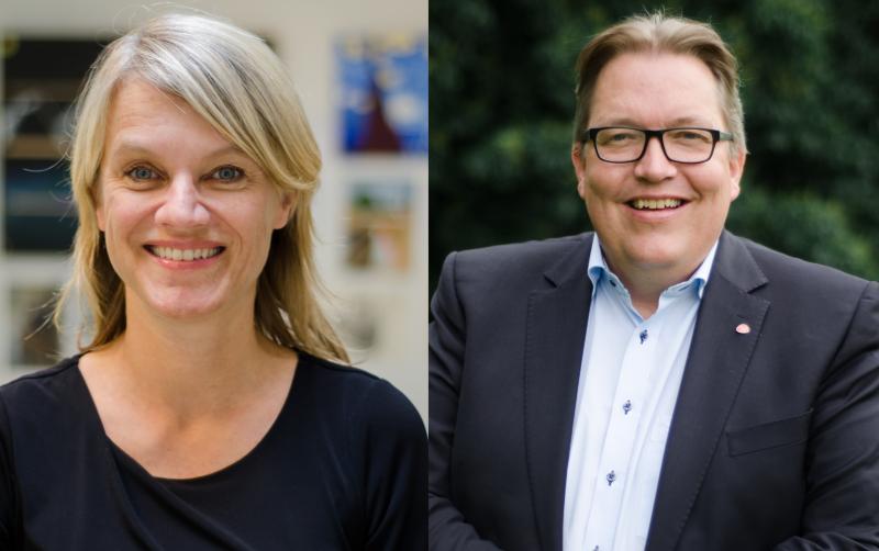 Nina Sandberg og Sverre Myrli