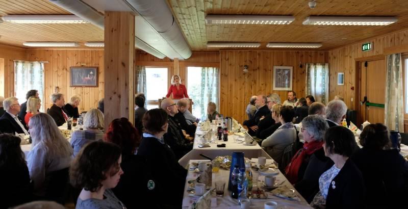 Jette Christensen holder tale på 1. mai på Askøy
