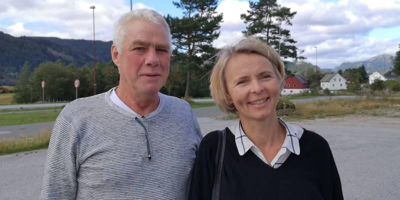 Alf Skeime og Inger Lise Lund Stulien er ordførerkandidater for Arbeiderpartiet i Hægebostad og Åseral.
