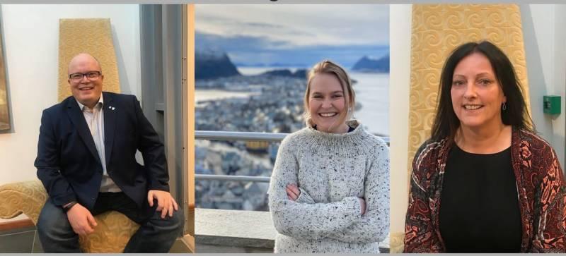 Våre tre fremste stortingskandidater