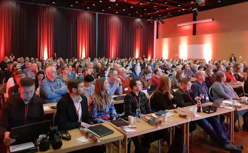 Stiftelsesmøte for Innlandet Arbeiderparti 3. mars 2019