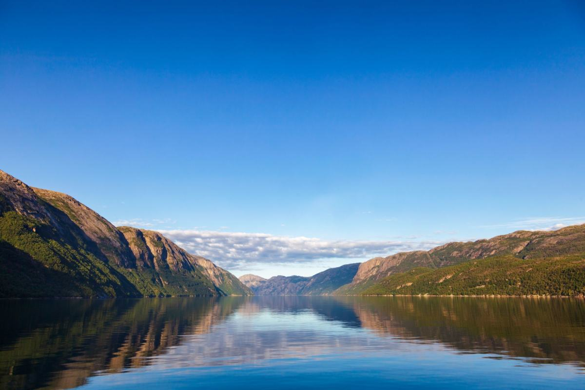 Lysefjorden i Rogaland. Foto: Colourbox