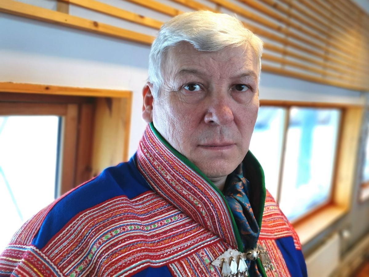Sametingsrepresentant Per Mathis Oskal