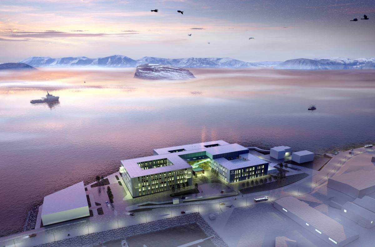 Opphavsrett: LINK arkitektur/Finnmarkssykehuset