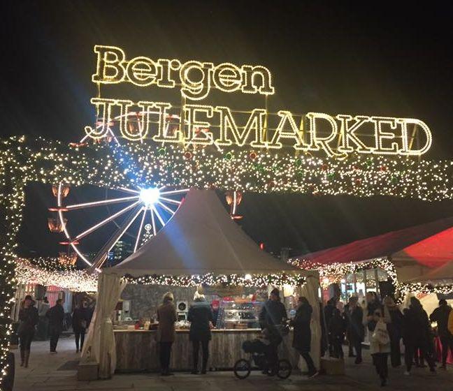 Bilde av Bergen julemarked