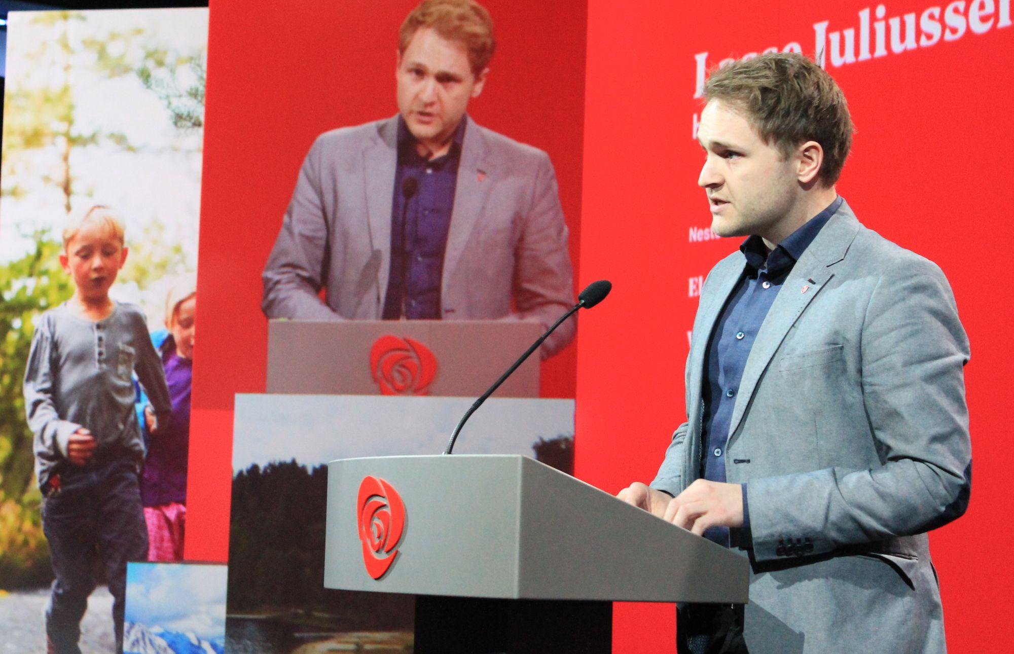 Lasse Juliussen. Foto: Bjørn Jarle Røberg-Larsen