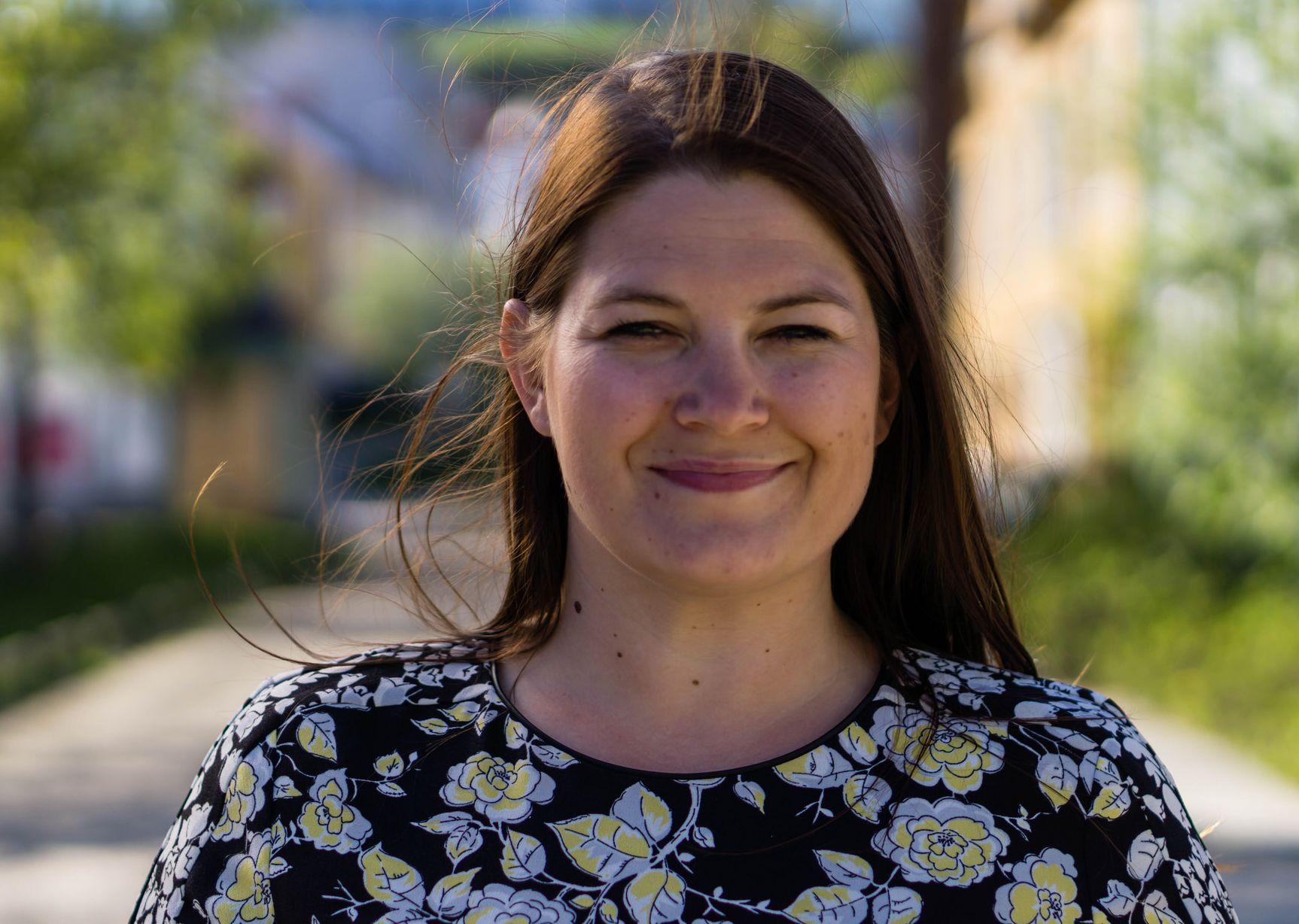 Cecilie Myrseth, leder av Troms Arbeiderparti