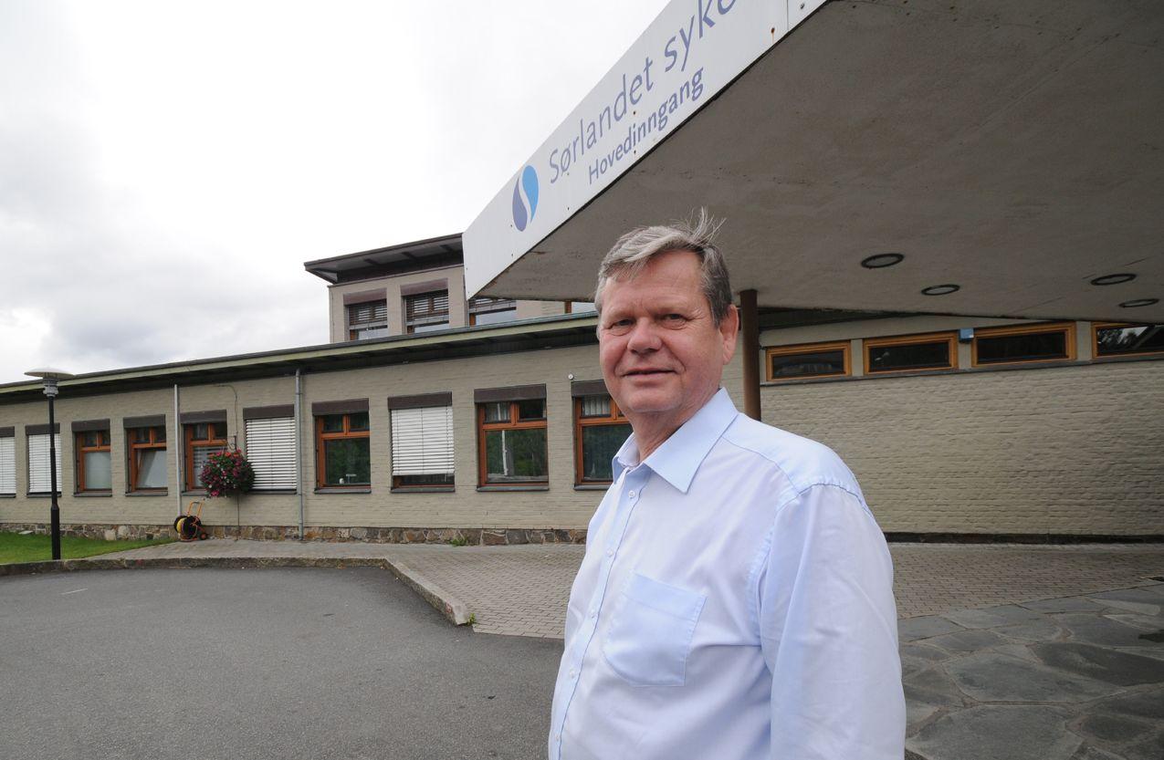 Odd Omland vil beholde akuttkirurgi ved Flekkefjord sykehus