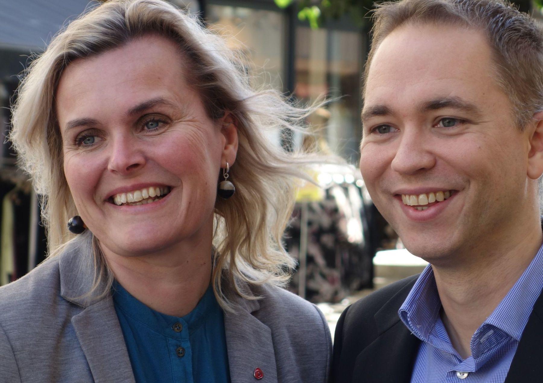 Hvis vi får inn både Tellef Inge og Cecilie på Stortinget, kan det føre til at det blir regjeringsskifte.