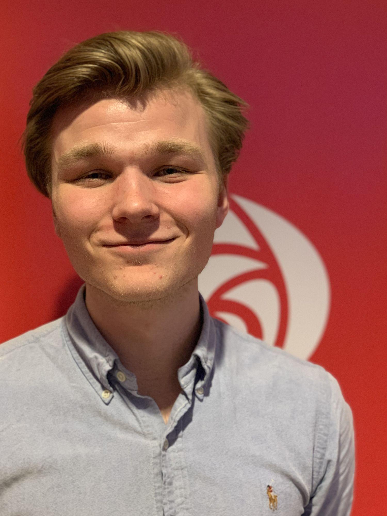 Nikolai Sti Ravlum, leder AUF i Telemark