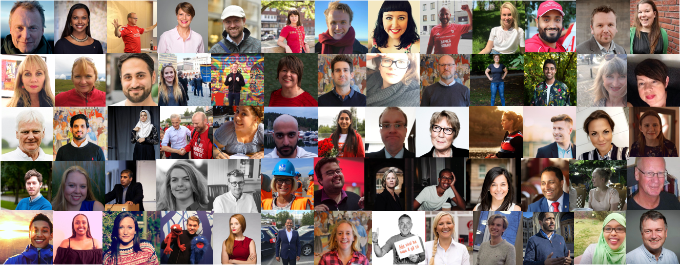 Oslo Arbeiderpartis bystyrekandidater 2019-2023