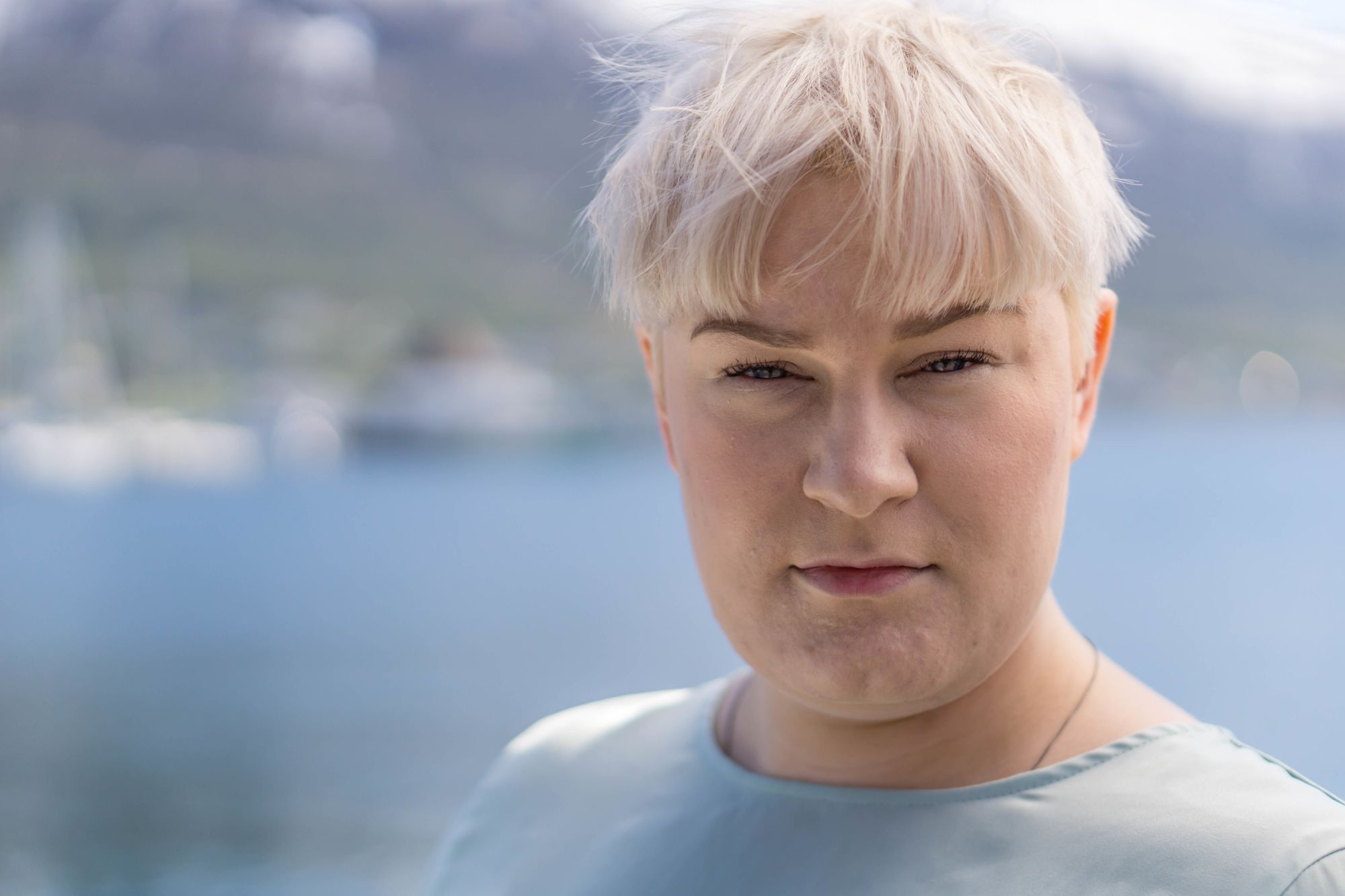Portrett av Eirin Kristin Kjær i Tromsø tatt av Thomas Birkeland.
