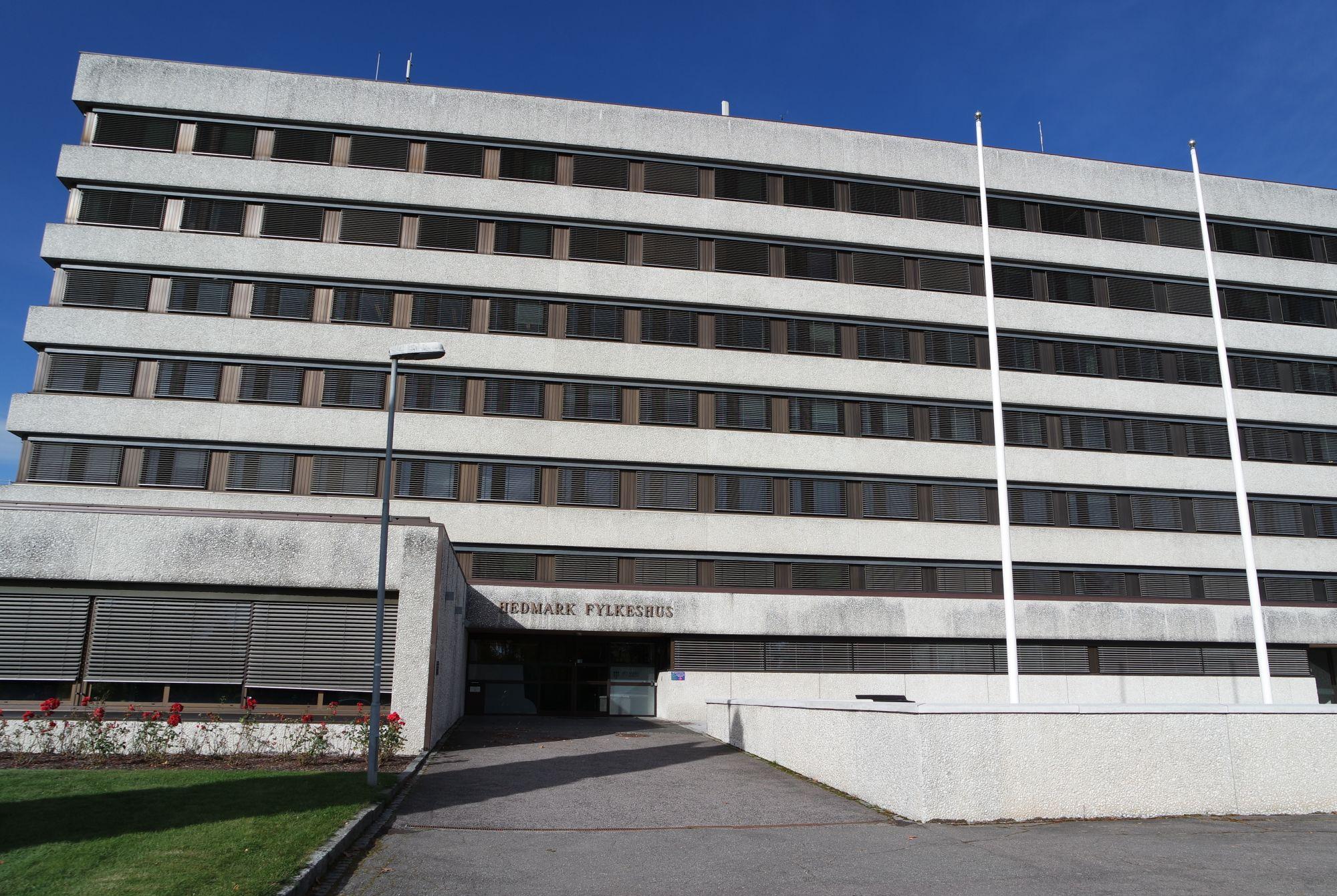 Hedmark fylkeshus i Hamar. Foto: Mona Stormoen