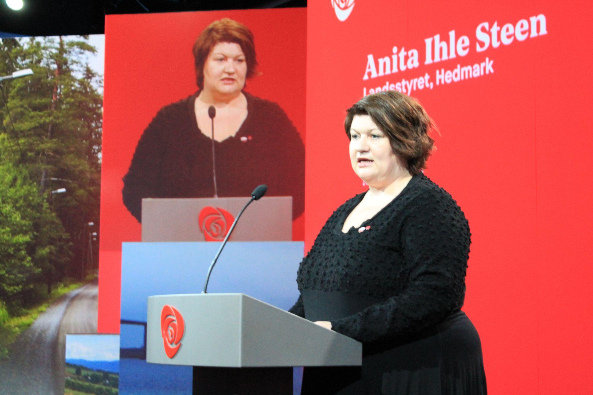 Anita Ihle Steen. Foto: Bjørn Jarle Røberg-Larsen