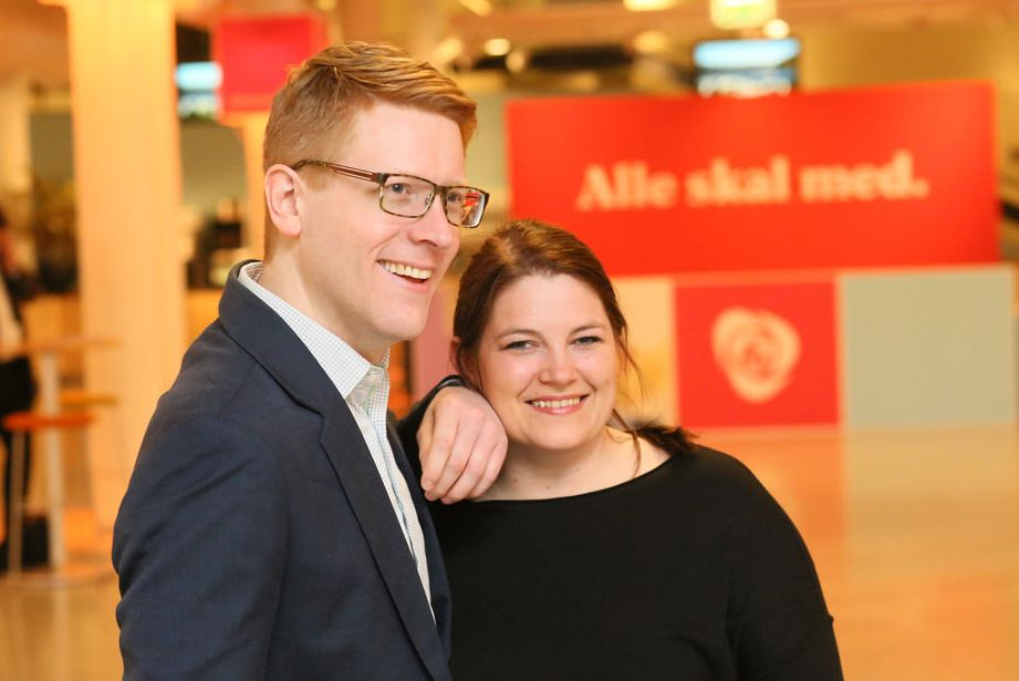 Cecilie og Martin klar for Stortinget!
