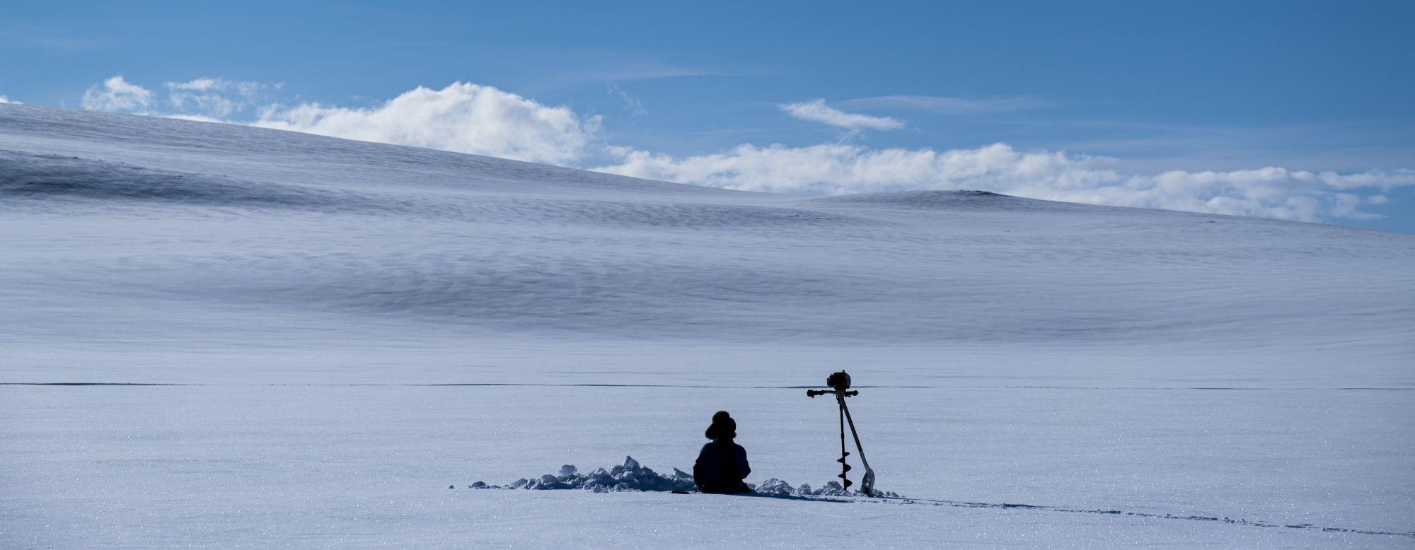 Isfisker på Finnmarksvidda