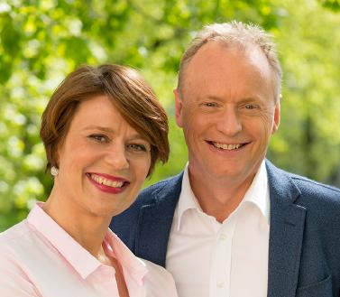 Ordførerkandidat Tone Tellevik Dahl, byrådslederkandidat Raymond Johansen