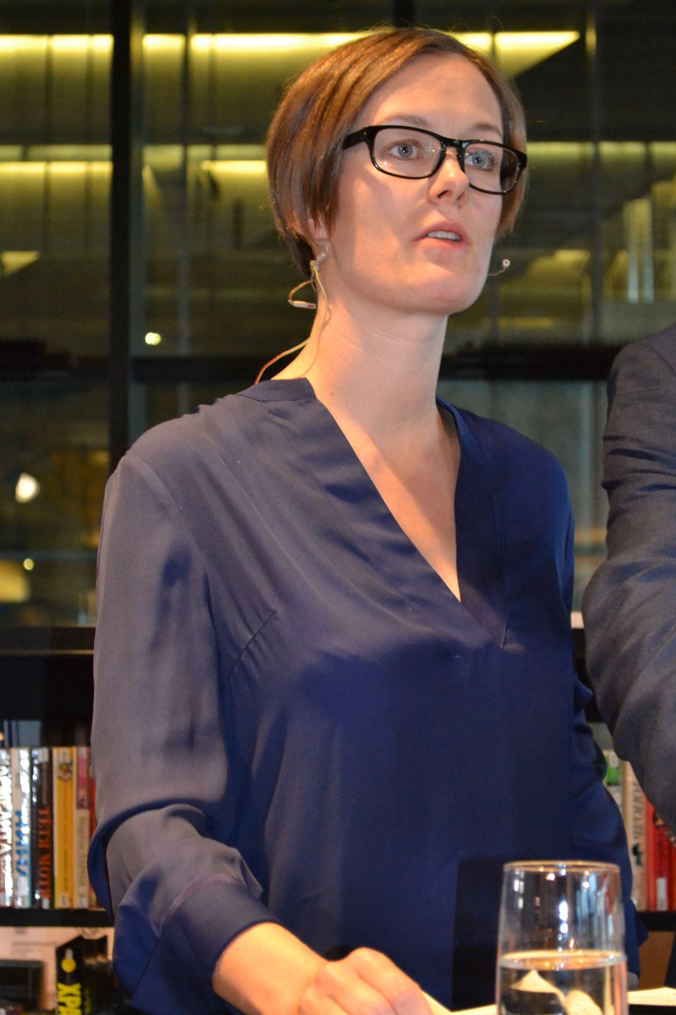 Anette Trettebergstuen. Foto: Rolf Berntsen