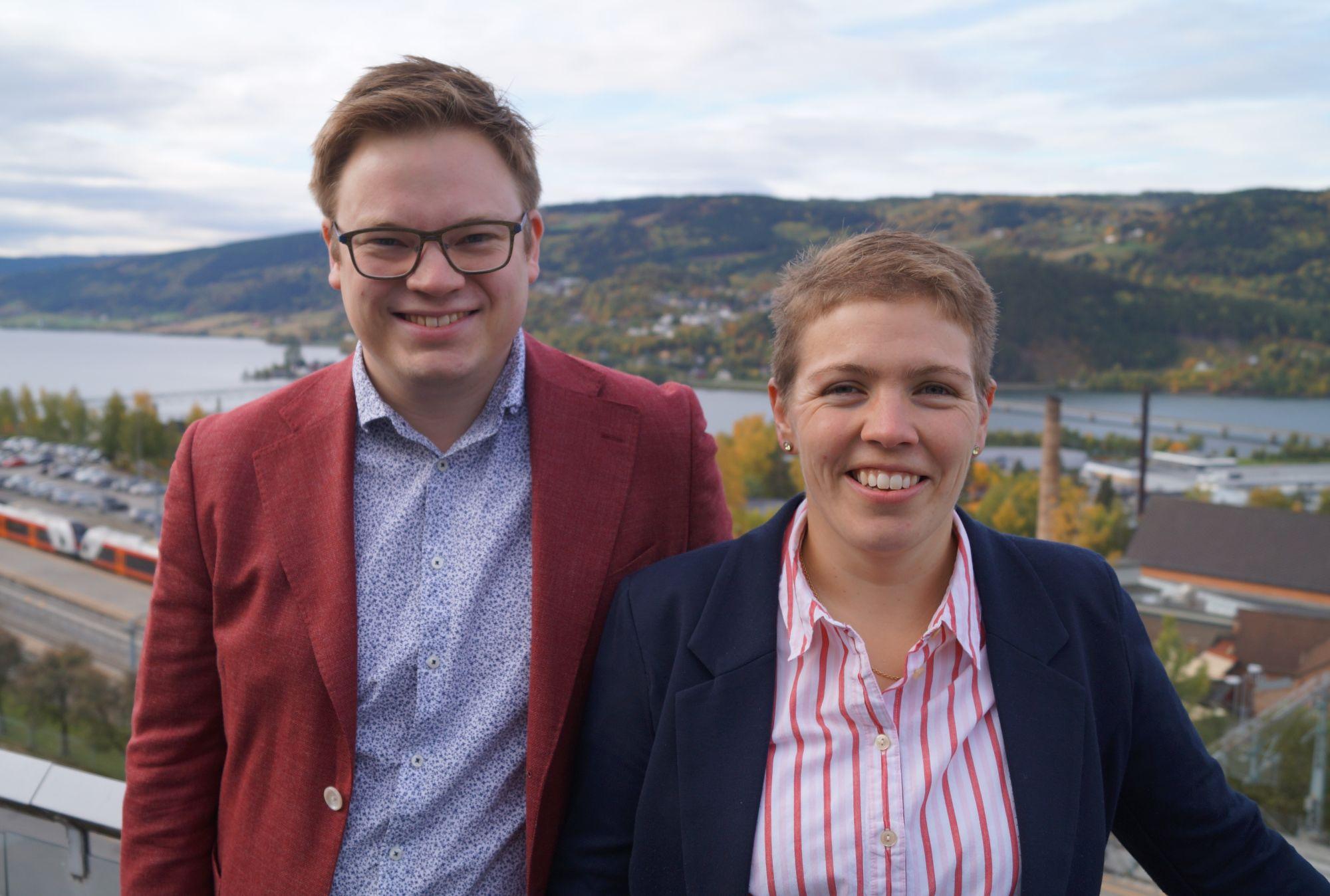 Even Aleksander Hagen og Kjerstin Lundgård