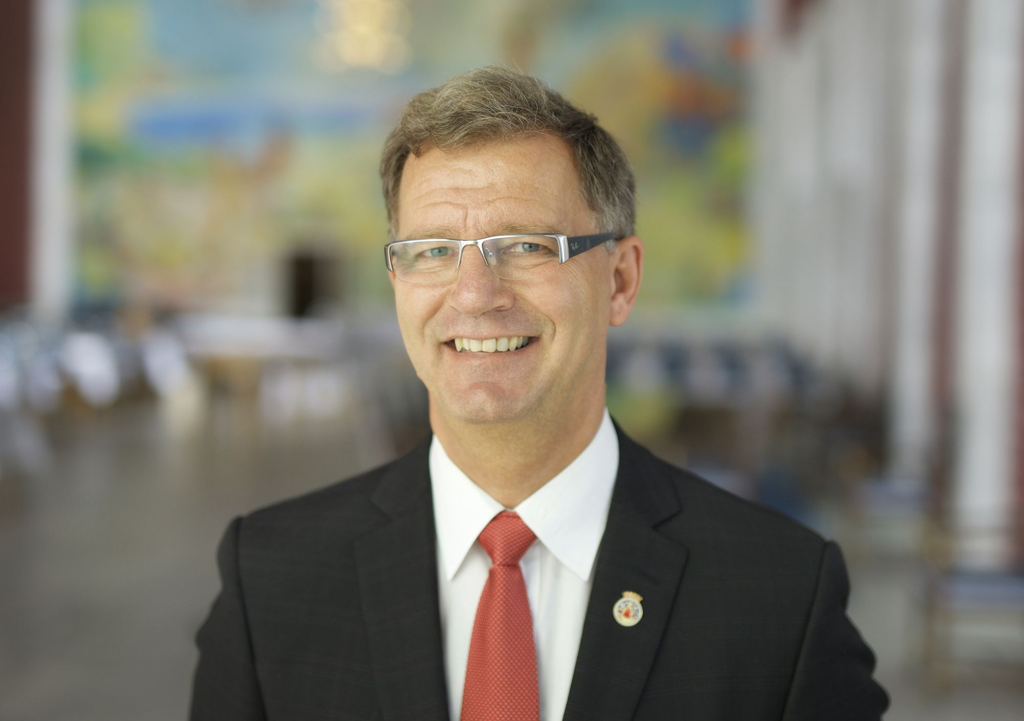 Finansbyråd Robert Steen