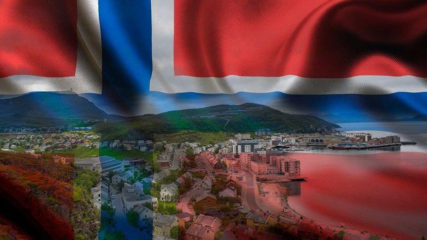 Nasjonalflagg Hammerfest