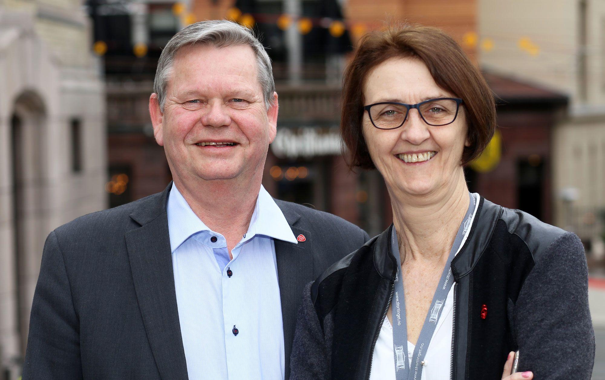 Kari Henriksen og Odd Omland