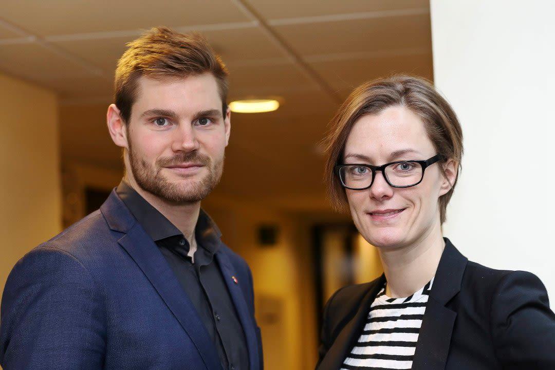 Nils Kristen Sandtrøen og Anette Trettebergstuen
