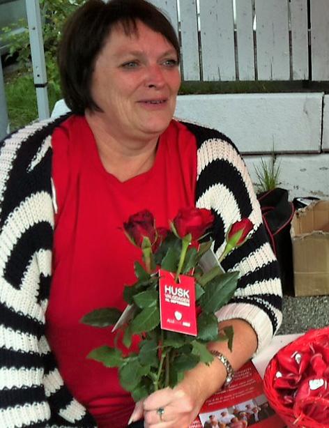 Lise Bergum - fra valgkampen 2011