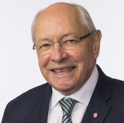 Martin Kolberg - portrett fra Stortinget