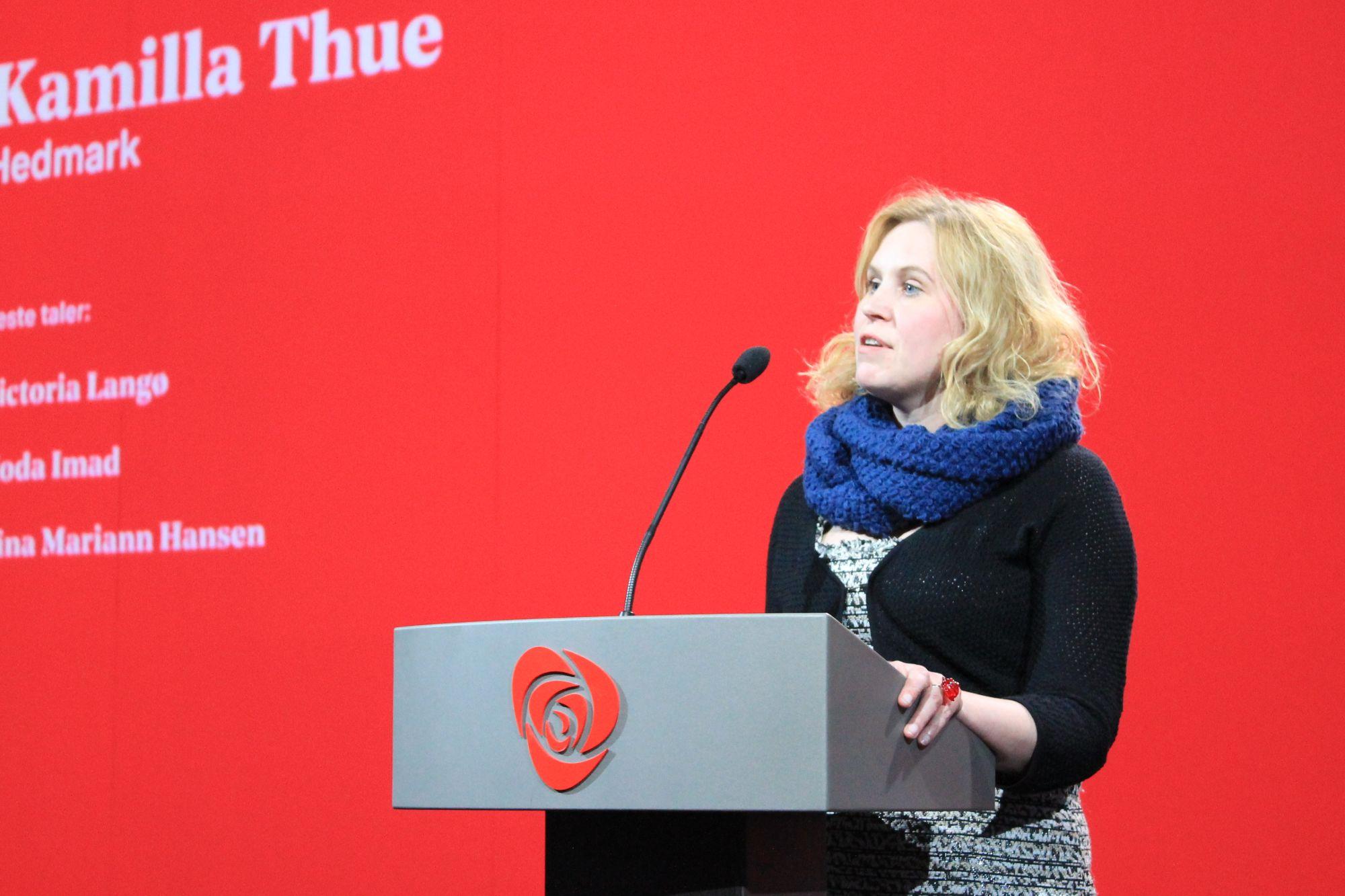 Kamilla Thue. Foto: Bjørn Jarle Røberg-Larsen