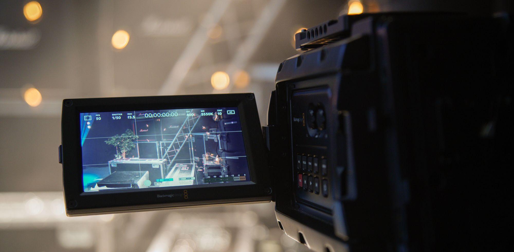 Kamera klart til livestream. Foto: VALY (Ikke gjenbruk)