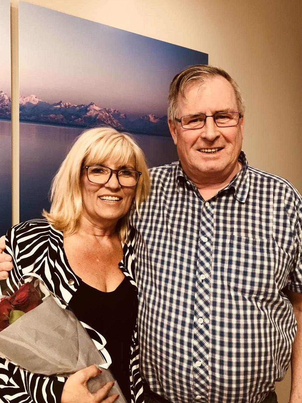 Kari-Anne Opsal og Halvar Hansen