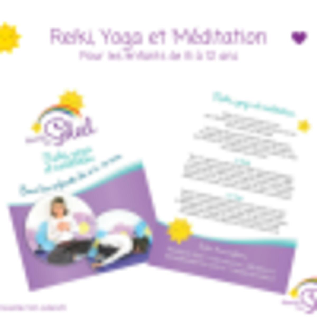 Atelier de Reiki, Yoga et Méditation enfants de 7 à 12 ans - Réveille ton soleil