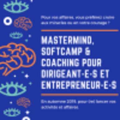 Mastermind, softcamp et coaching pour dirigeant-e-s et entrepreneur-e-s