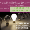 Conférence : Réaliser son potentiel - Seirá Academia