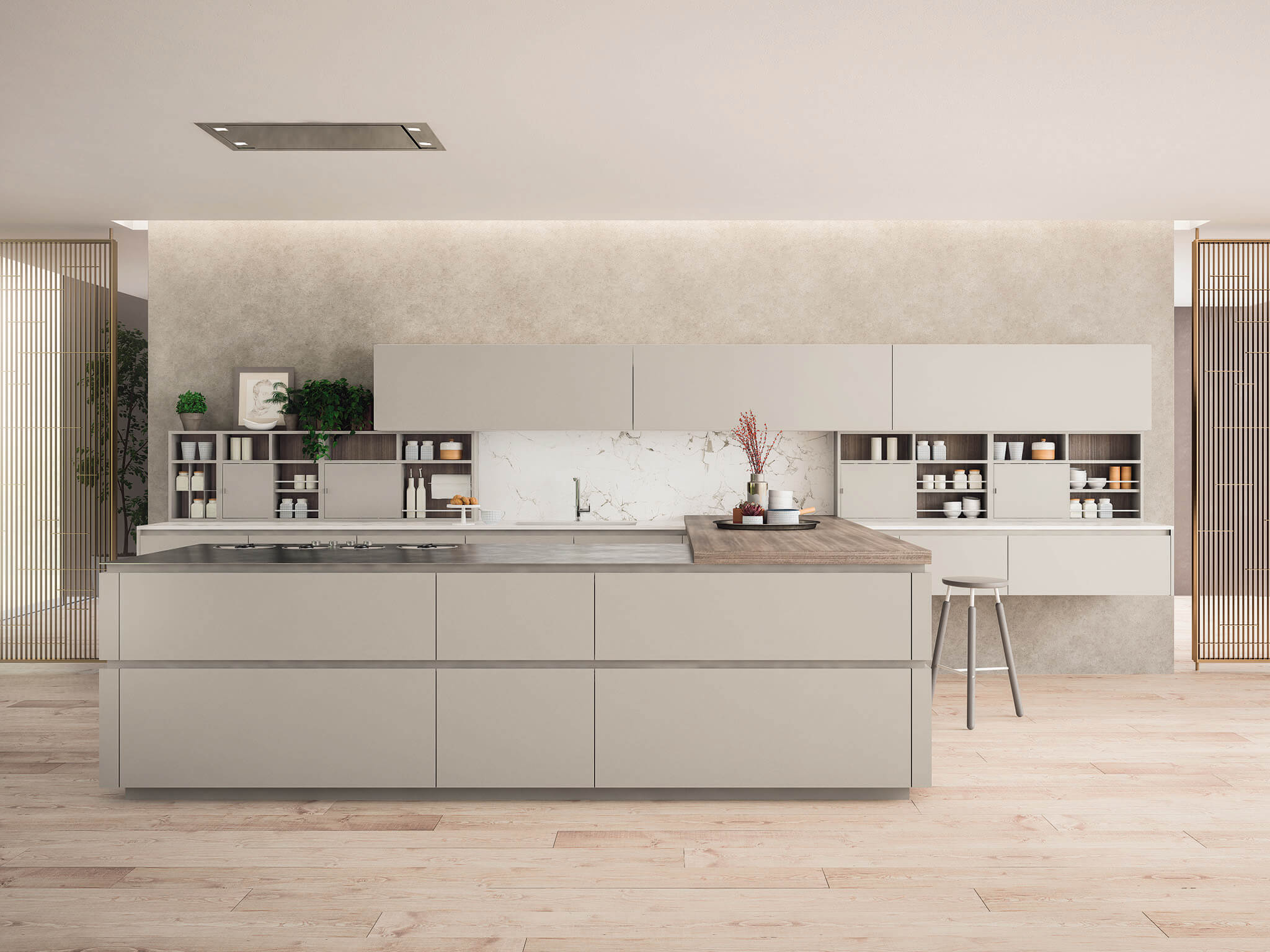 Kate contemporary kitchen cabinet matte | Chicago
