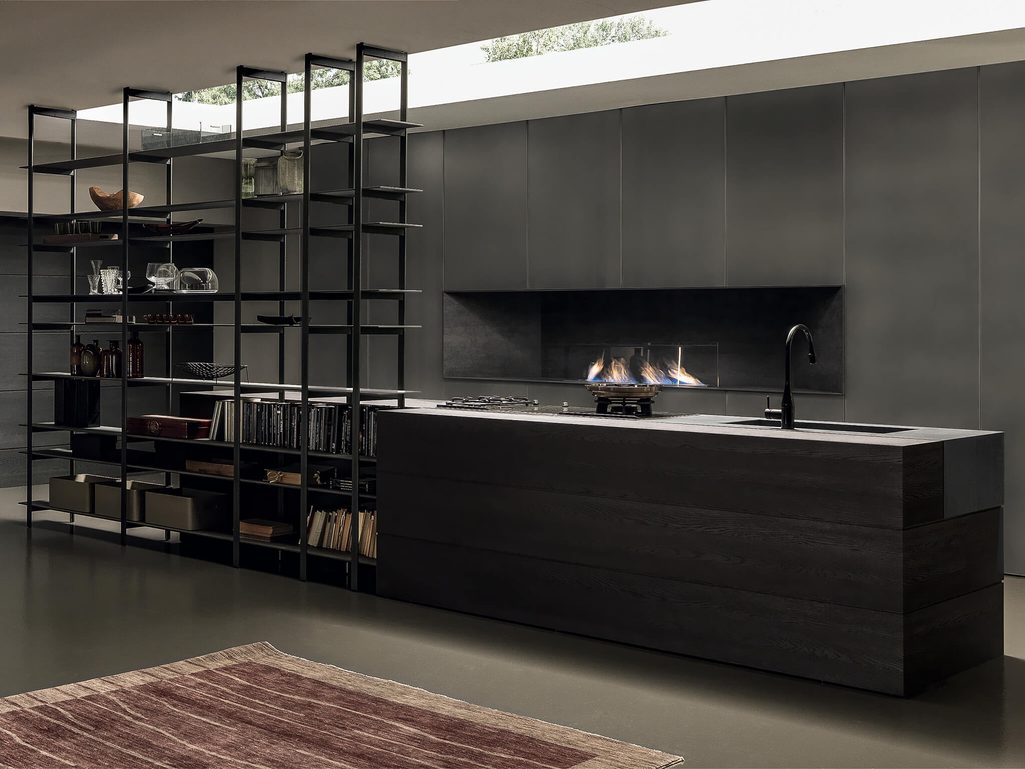 Blade ultra contemporary kitchen Archisesto Chicago