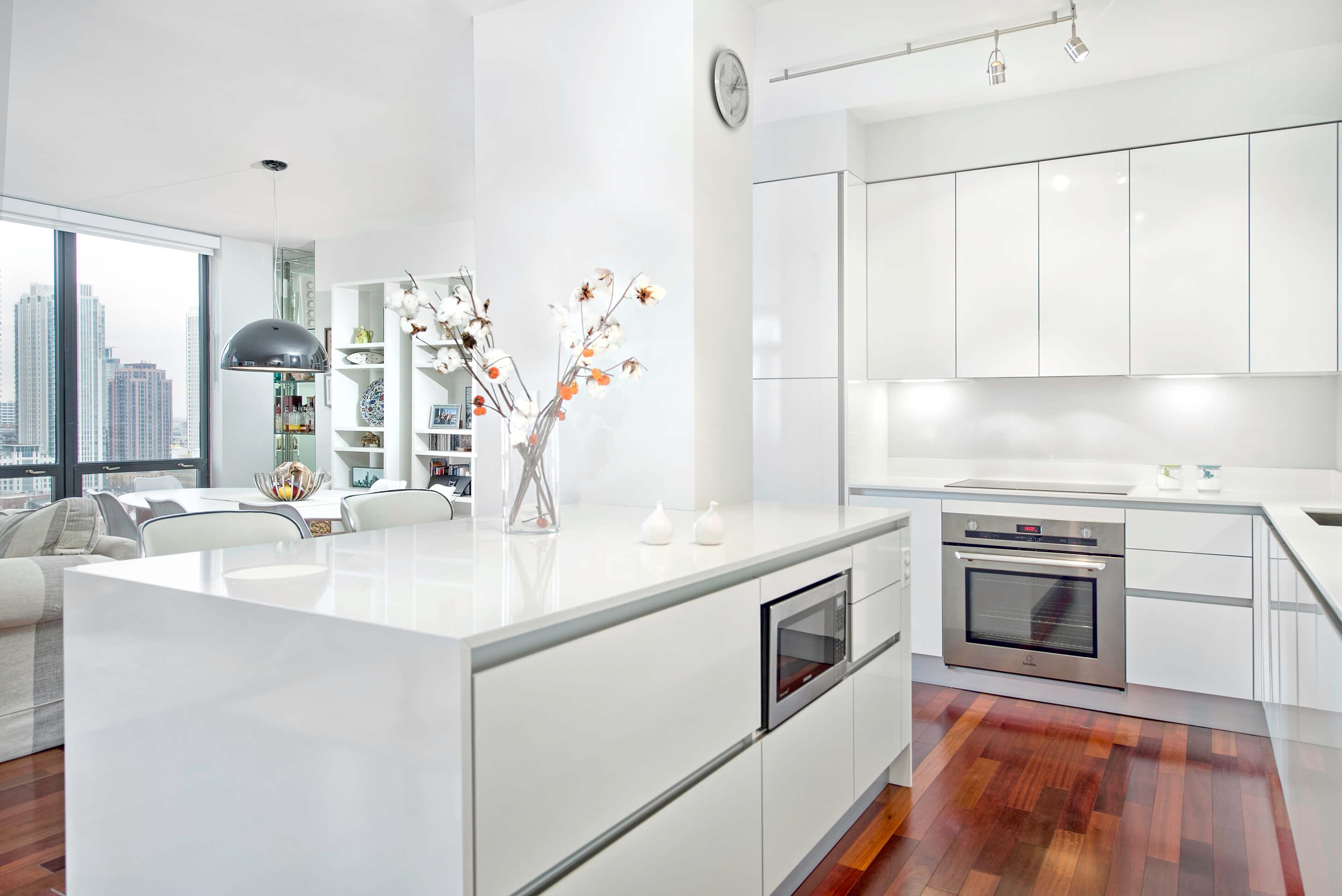 Residential Portfolio: All White Kitchen   Archisesto