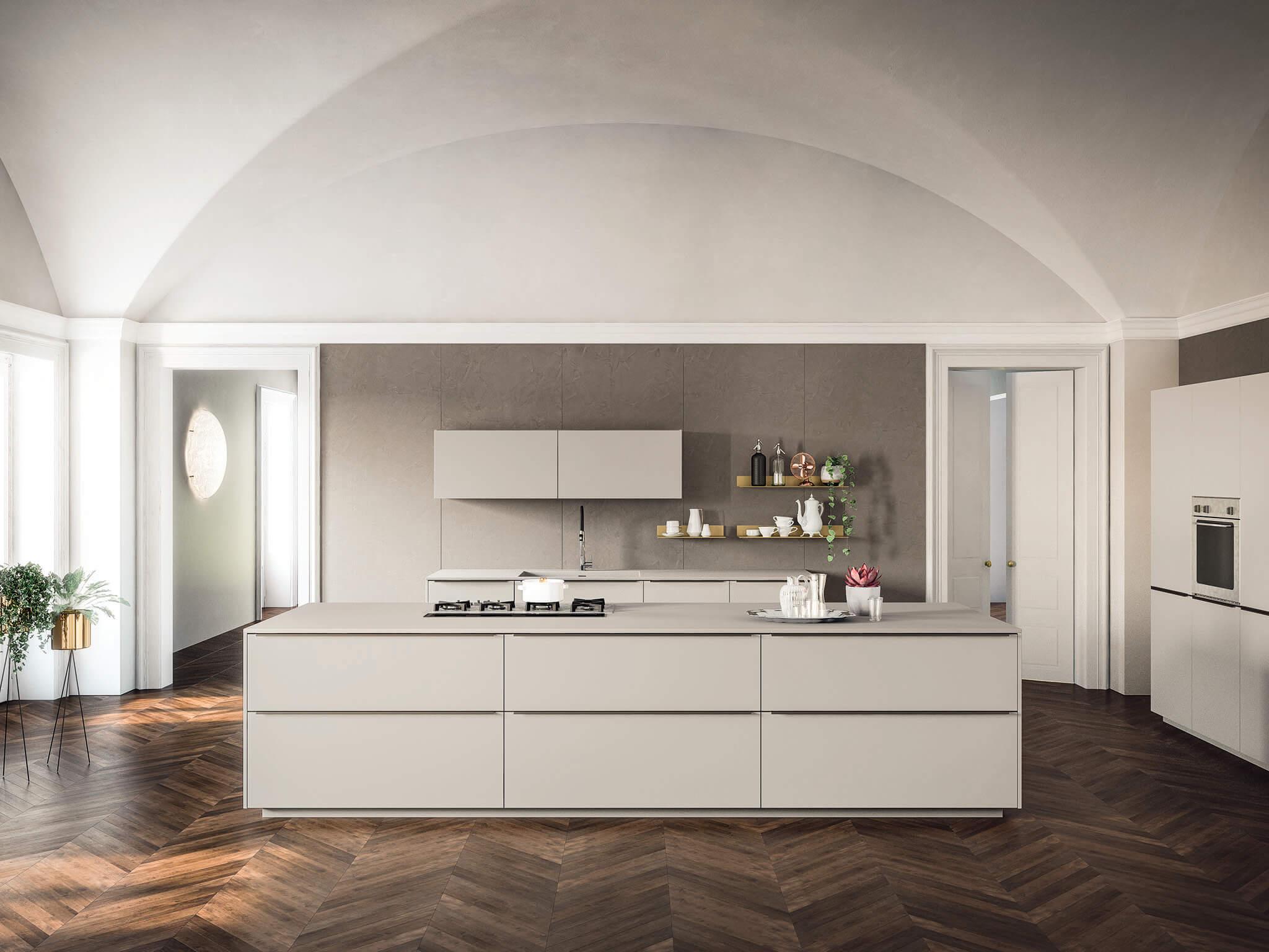 Alexia contemporary kitchen cabinet