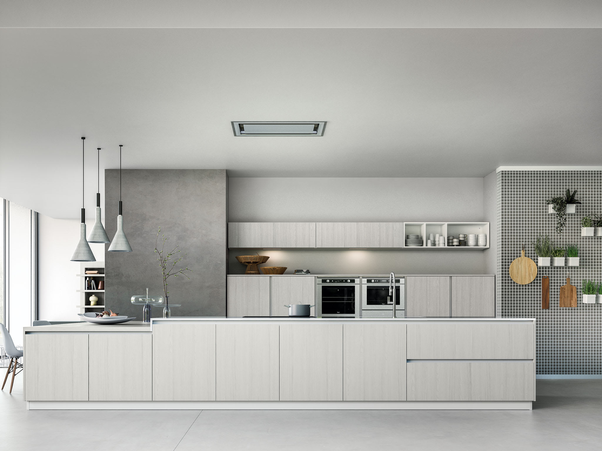 Helene contemporary kitchen cabinet