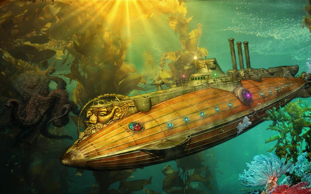 The Nautilus Jules Verne