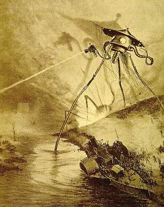 War of the Worlds Heat Ray HG Wells