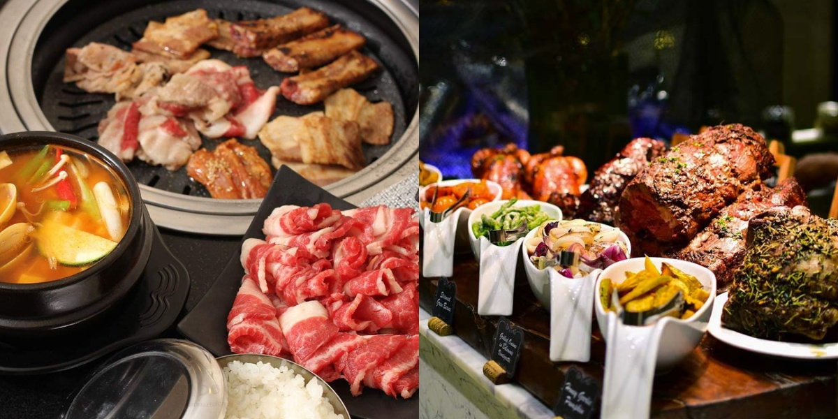 5 Buffets in SM Megamall
