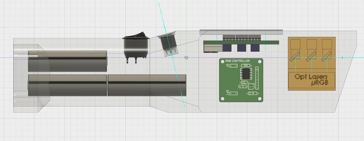 Need help for PCB Design for RGB Host V2 | Laser Pointers