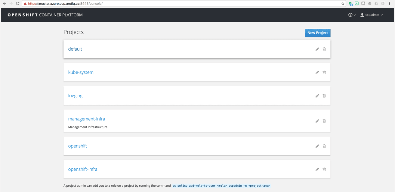 openshift ui