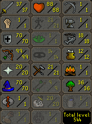 99 Ranged 70 Defence 70 Magic Main - $149.99