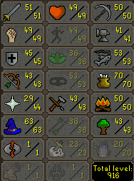 61 Combat Berserker Pure 45 Defence 179 Quest Points B Gloves, Ancients, & More - $199.99